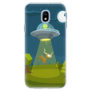 Plastové pouzdro iSaprio Alien 01 na mobil Samsung Galaxy J3 2017