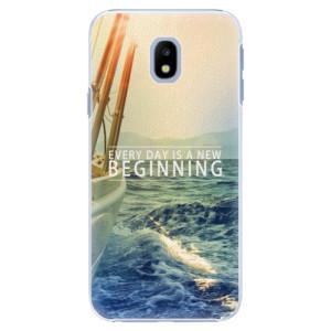 Plastové pouzdro iSaprio Beginning na mobil Samsung Galaxy J3 2017