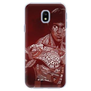 Plastové pouzdro iSaprio Bruce Lee na mobil Samsung Galaxy J3 2017