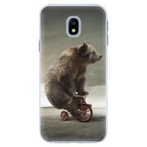 Plastové pouzdro iSaprio Bear 01 na mobil Samsung Galaxy J3 2017