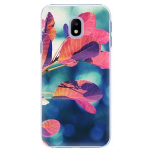Plastové pouzdro iSaprio Autumn 01 na mobil Samsung Galaxy J3 2017