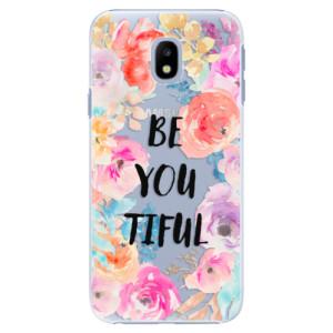 Plastové pouzdro iSaprio BeYouTiful na mobil Samsung Galaxy J3 2017