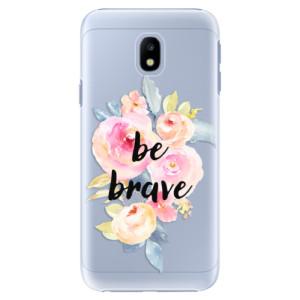 Plastové pouzdro iSaprio Be Brave na mobil Samsung Galaxy J3 2017