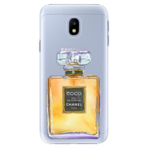 Plastové pouzdro iSaprio Chanel Gold na mobil Samsung Galaxy J3 2017