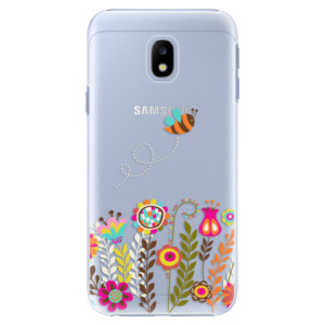 Plastové pouzdro iSaprio Bee 01 na mobil Samsung Galaxy J3 2017