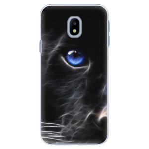 Plastové pouzdro iSaprio black Puma na mobil Samsung Galaxy J3 2017