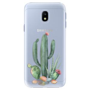 Plastové pouzdro iSaprio Kaktusy 02 na mobil Samsung Galaxy J3 2017