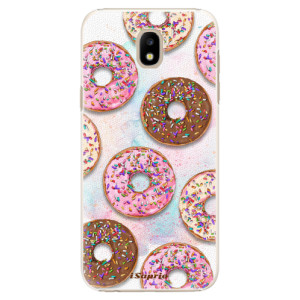 Plastové pouzdro iSaprio Donutky Všude 11 na mobil Samsung Galaxy J5 2017