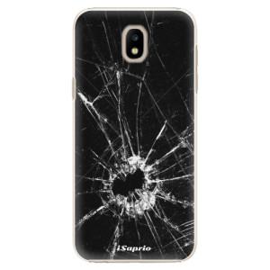 Plastové pouzdro iSaprio Broken Glass 10 na mobil Samsung Galaxy J5 2017