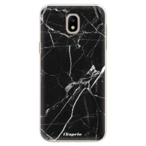 Plastové pouzdro iSaprio black Marble 18 na mobil Samsung Galaxy J5 2017