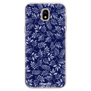 Plastové pouzdro iSaprio Blue Leaves 05 na mobil Samsung Galaxy J5 2017
