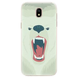 Plastové pouzdro iSaprio Angry Bear na mobil Samsung Galaxy J5 2017