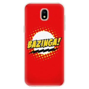Plastové pouzdro iSaprio Bazinga 01 na mobil Samsung Galaxy J5 2017