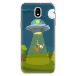 Plastové pouzdro iSaprio Alien 01 na mobil Samsung Galaxy J5 2017