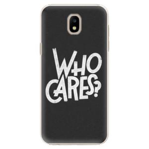 Plastové pouzdro iSaprio Who Cares na mobil Samsung Galaxy J5 2017
