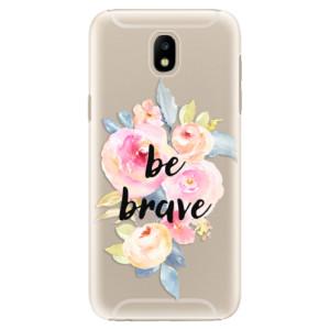 Plastové pouzdro iSaprio Be Brave na mobil Samsung Galaxy J5 2017