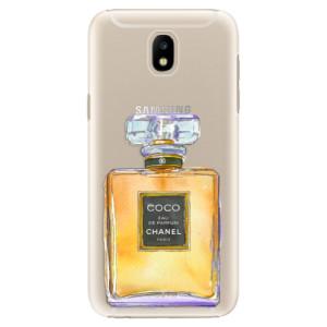 Plastové pouzdro iSaprio Chanel Gold na mobil Samsung Galaxy J5 2017