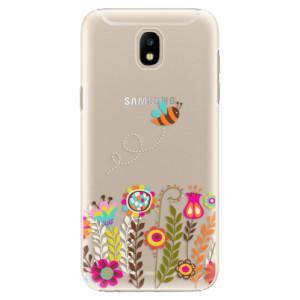 Plastové pouzdro iSaprio Bee 01 na mobil Samsung Galaxy J5 2017
