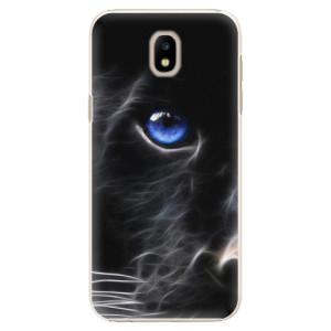 Plastové pouzdro iSaprio black Puma na mobil Samsung Galaxy J5 2017