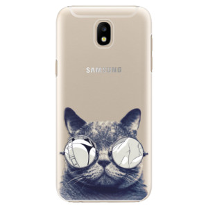 Plastové pouzdro iSaprio Šílená Číča 01 na mobil Samsung Galaxy J5 2017