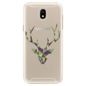 Plastové pouzdro iSaprio Zelený Jelínek na mobil Samsung Galaxy J5 2017