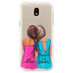 Plastové pouzdro iSaprio Best Friends na mobil Samsung Galaxy J5 2017