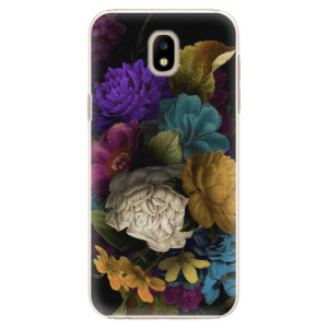 Plastové pouzdro iSaprio Temné Květy na mobil Samsung Galaxy J5 2017