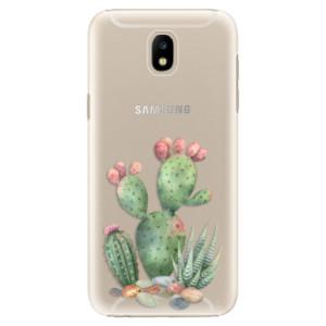 Plastové pouzdro iSaprio Kaktusy 01 na mobil Samsung Galaxy J5 2017