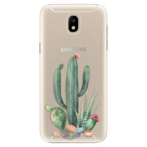 Plastové pouzdro iSaprio Kaktusy 02 na mobil Samsung Galaxy J5 2017