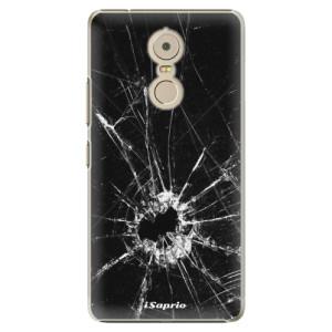Plastové pouzdro iSaprio Broken Glass 10 na mobil Lenovo K6 Note
