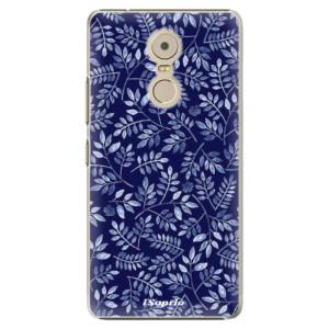 Plastové pouzdro iSaprio Blue Leaves 05 na mobil Lenovo K6 Note