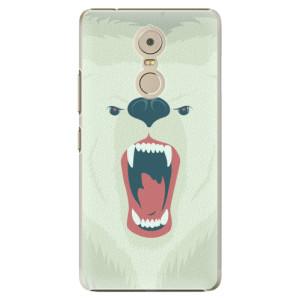Plastové pouzdro iSaprio Angry Bear na mobil Lenovo K6 Note
