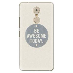 Plastové pouzdro iSaprio Awesome 02 na mobil Lenovo K6 Note