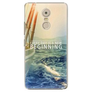 Plastové pouzdro iSaprio Beginning na mobil Lenovo K6 Note