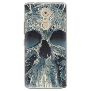 Plastové pouzdro iSaprio Abstract Skull na mobil Lenovo K6 Note