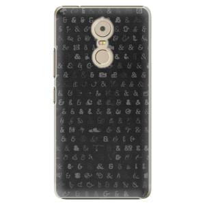 Plastové pouzdro iSaprio Ampersand 01 na mobil Lenovo K6 Note