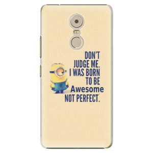 Plastové pouzdro iSaprio Be Awesome na mobil Lenovo K6 Note