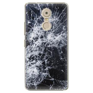 Plastové pouzdro iSaprio Praskliny na mobil Lenovo K6 Note