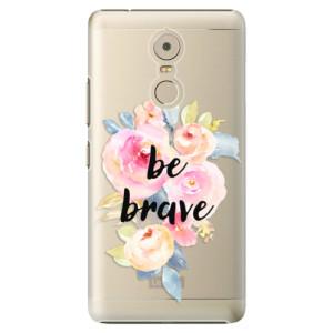 Plastové pouzdro iSaprio Be Brave na mobil Lenovo K6 Note