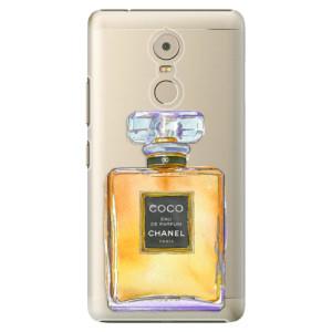 Plastové pouzdro iSaprio Chanel Gold na mobil Lenovo K6 Note