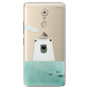 Plastové pouzdro iSaprio Bear With Boat na mobil Lenovo K6 Note