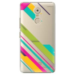 Plastové pouzdro iSaprio Barevné Pruhy 03 na mobil Lenovo K6 Note