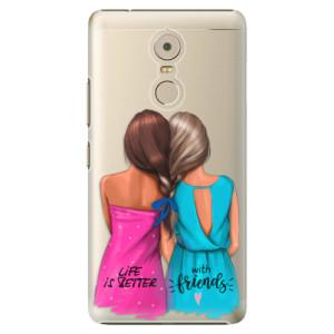 Plastové pouzdro iSaprio Best Friends na mobil Lenovo K6 Note