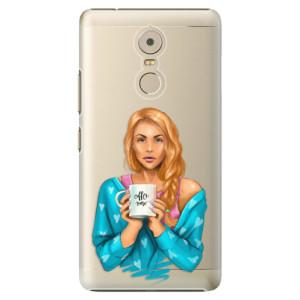 Plastové pouzdro iSaprio Coffee Now Zrzka na mobil Lenovo K6 Note