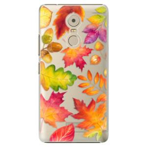 Plastové pouzdro iSaprio Autumn Leaves 01 na mobil Lenovo K6 Note