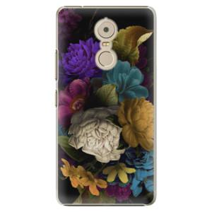 Plastové pouzdro iSaprio Temné Květy na mobil Lenovo K6 Note