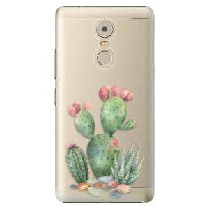 Plastové pouzdro iSaprio Kaktusy 01 na mobil Lenovo K6 Note