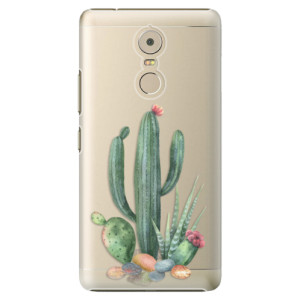 Plastové pouzdro iSaprio Kaktusy 02 na mobil Lenovo K6 Note