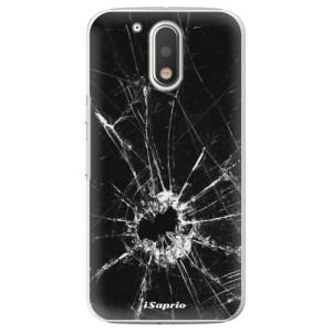 Plastové pouzdro iSaprio Broken Glass 10 na mobil Lenovo Moto G4 / G4 Plus