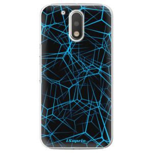 Plastové pouzdro iSaprio Abstract Outlines 12 na mobil Lenovo Moto G4 / G4 Plus